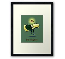 Lord of the Scrubs Framed Print