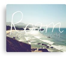 Roam III Canvas Print