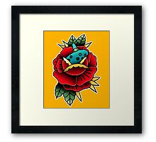 Ocarina Flower Framed Print
