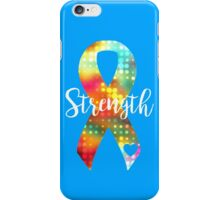 Strength Abstract Ribbon iPhone Case/Skin