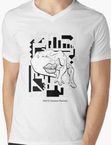 Leviathan Lamuel in its Element Mens V-Neck T-Shirt