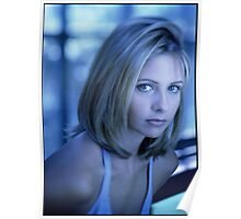 Buffy Blue Poster