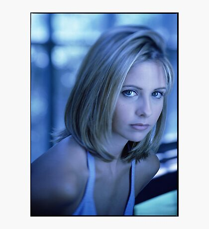 Buffy Blue Photographic Print
