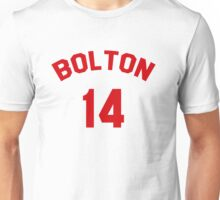 High School Musical: Bolton Jersey Red Unisex T-Shirt