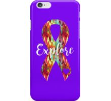 Explore Abstract Ribbon iPhone Case/Skin