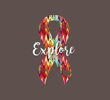 Explore Abstract Ribbon Unisex T-Shirt
