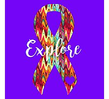 Explore Abstract Ribbon Photographic Print