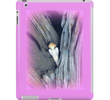 carved angel in tree iPad Case/Skin