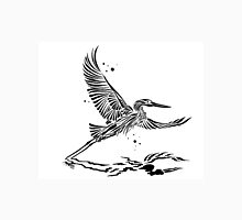 Blue Heron in Flight Unisex T-Shirt