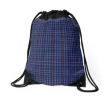 00766 Baptist Union of Scotland Tartan Drawstring Bag