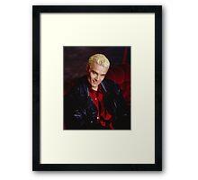 Spike Smirk Framed Print