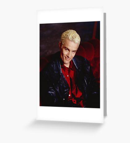 Spike Smirk Greeting Card