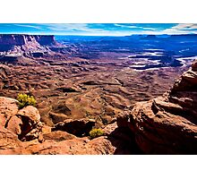 Sunset at Canyonlands Photographic Print