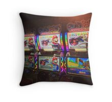 Mario Kart Arcade Driving Game  Throw Pillow