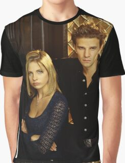 buffy and angel Graphic T-Shirt