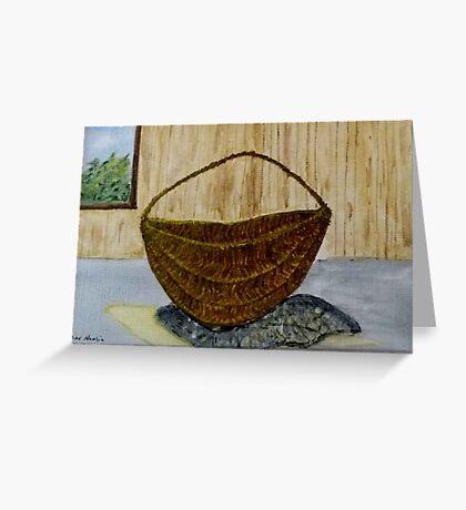 Willow Basket  Greeting Card