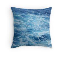 Caribbean Blue Throw Pillow