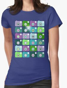 Camera Love Womens Fitted T-Shirt