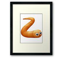 slitherio Framed Print