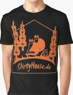 ShirtyHouse Cats Graphic T-Shirt