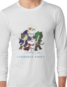 Fantasy Cats Long Sleeve T-Shirt