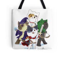 Fantasy Cats Tote Bag