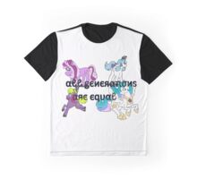 All Generations are Equal Graphic T-Shirt