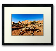 Window at Arches National Park Framed Print