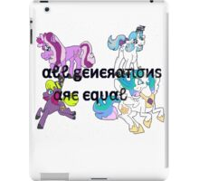 All Generations are Equal iPad Case/Skin