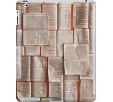 A life of books iPad Case/Skin