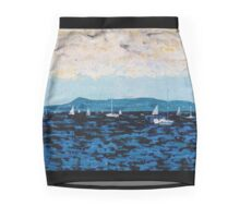 Howth Head and Dublin Bay Mini Skirt