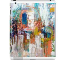 Hot Time in the City abstract by Alma Lee iPad Case/Skin