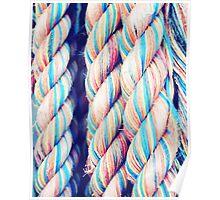 Rainbow Ropes Poster