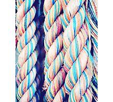 Rainbow Ropes Photographic Print
