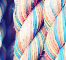 Rainbow Ropes Sticker