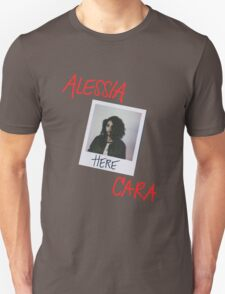 Alessia Cara Here Red Font T-Shirt
