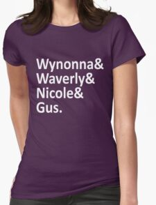 Wynonna Earp Ladies Womens Fitted T-Shirt