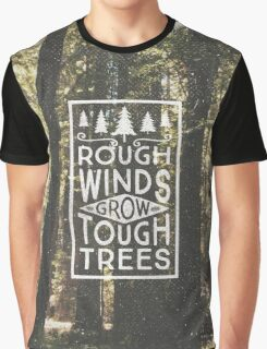 TOUGH TREES Graphic T-Shirt