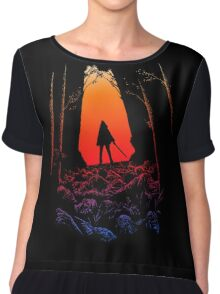 Michonne - The Walking Dead Chiffon Top