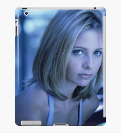 Buffy Blue iPad Case/Skin