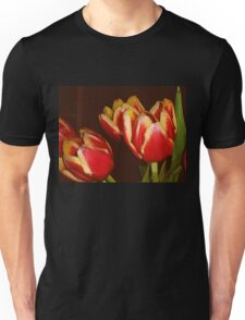 LOVELY RED AND YELLOW TULIPS Unisex T-Shirt