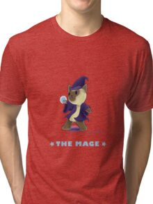 Fantasy Cat - The Mage Tri-blend T-Shirt