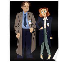 Fox and Dana Poster