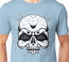 Wrinkled Skull Unisex T-Shirt
