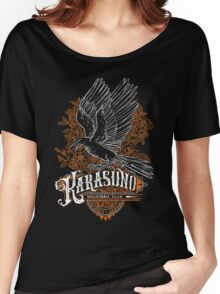 Haikyuu Team Types: Karasuno Black Women's Relaxed Fit T-Shirt