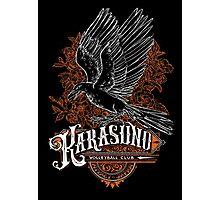 Haikyuu Team Types: Karasuno Black Photographic Print