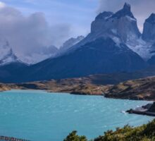 Patagonia Torres del Paine Long Shot Sticker