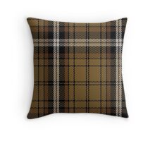 00786 Braemar Camel Tartan Throw Pillow