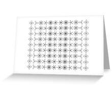 Spiro Flowers Greeting Card