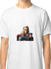Peace Out ThorScout Classic T-Shirt